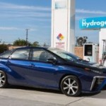 Начались продажи водородной Toyota Mirai