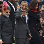 Обаму снова поймали жующим жвачку на официальном мероприятии