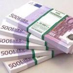 Евро опустился до девятилетнего минимума