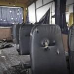 ОБСЕ установила направление обстрела автобуса