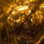 Телескоп Array заснял мощную вспышку на Солнце