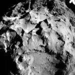 Rosetta показала комету в момент истекания ее пылевого слоя
