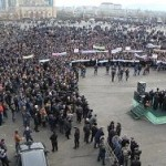 Подсчитано число участников антикарикатурного митинга в Грозном