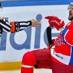 Хоккейный ЦСКА выиграл матч со счетом 12:0