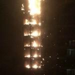 В Дубае загорелся «Факел»