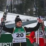 На первенстве мира по биатлону москвич одержал победу