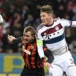 «Шахтер» сыграл вничью с «Баварией» в Лиге Чемпионов