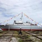 ВМФ России получит первый корабль из композитных материалов