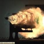Дебют «рельсотрона» ВМС США