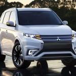 Mitsubishi показала часть американского Outlander