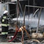 В Казани из-за пожара в ТЦ «Адмирал» введен режим ЧС