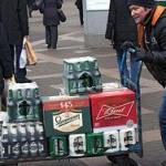 Продажи водки в январе снизились на 7,4 процента