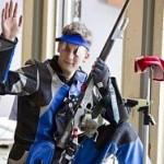 Лугинец завоевал 2 серебра на соревнованиях по пулевой стрельбе
