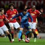 «Арсенал» победил «МЮ» и вышел в полуфинал Кубка Англии