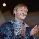 Плющенко показал послеоперационный рубец