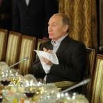 Золотой унитаз Путина