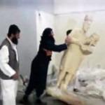 Боевики уничтожают в Ираке уникальные древние статуи