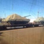 Появились первые фото нового российского танка «Армата»