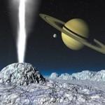 Планетологи доказали наличие на Энцеладе теплого океана