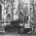 Танковая дуэль рядом с Кельнским собором