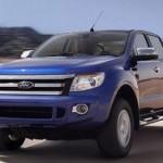 Обновленный пикап Ford Ranger «всплыл» в Сети