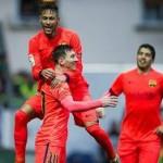 «Барселона» укрепила лидерство в Примере