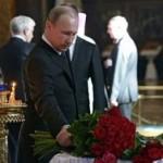 Путин простился с писателем Валентином Распутиным