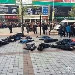 Десятки таксистов в Пекине попытались покончить с собой