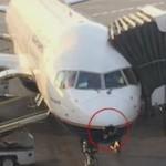 Молния пробила дыру в летевшем из Исландии в США самолете