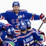 ЦСКА уступил СКА в четвертом матче полуфинала Кубка Гагарина