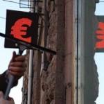 Курс евро подняли на рубль