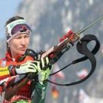 Дарья Домрачева выиграла гонку преследования в Поклюке
