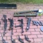В Когалыме ищут владельцев крупного арсенала оружия