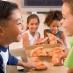 Исследование: пицца вредит здоровью детей