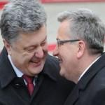 Коморовский: польской армии в Украине не будет