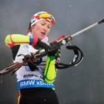 Домрачева выиграла масс-старт в Рупольдинге