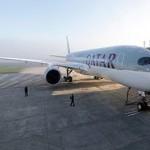 Airbus A350 отправился в первый полет с пассажирами