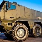 """Колеса для армии: """"Тайфун"""" выдерживает танковый обстрел"""