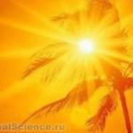Палящее солнце может явиться причиной летального исхода