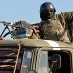 В Луганской области подорвался на фугасе грузовик с военными