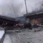 Путиловский мост в Донецке уничтожен снарядом