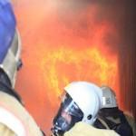 В новгородской колонии сгорела церковь