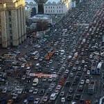 Москва вошла в первую пятерку мира по пробками