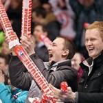 КХЛ установила рекорд средней посещаемости матчей