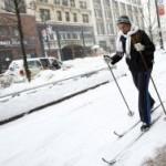 В США из-за снежного бурана в магазинах опустели полки