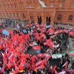В Москве завершился митинг «Антимайдана»