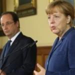 СМИ: Меркель и Олланд предложат перемирие на новых условиях