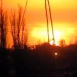 Эпицентром  взрыва в Донецке стал военный химзавод