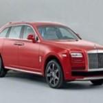 Rolls-Royce занимается разработкой нового кроссовера