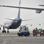 Международные авиаперевозки в России сократились на 15%